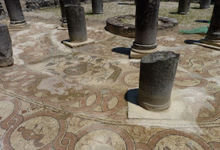 Baptisterio cristiano de Butrinto.