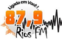 Rádio Rios FM 87,9 do Rio de Janeiro RJ