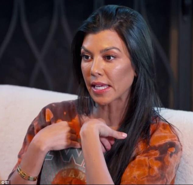 He is with a different hooker every night – Kourtney Kardashian insults Scott Disick in new KUWTK clip