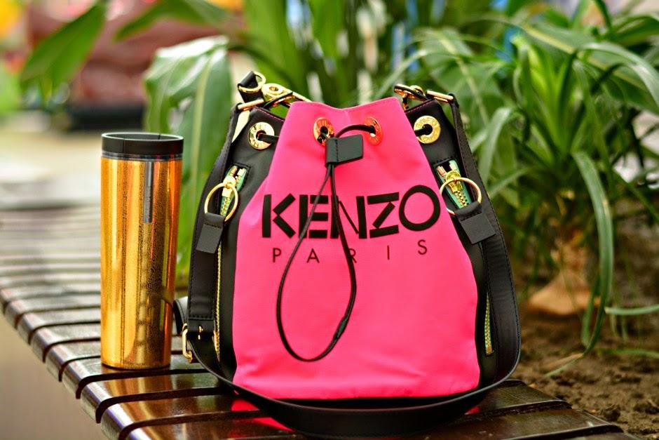 2615417f1d J'adore Fashion: New in: Kenzo Kanvas Bucket Bag