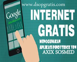 GRATIS & UNLIMITED ! Cara Baru untuk Internetan Gratis Unlimited dengan PinoyTricks VPN