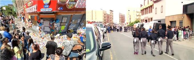 Multitud en procesión replica los últimos y trágicos pasos de estudiante dominicano asesinado quien colapsó antes de llegar al hospital