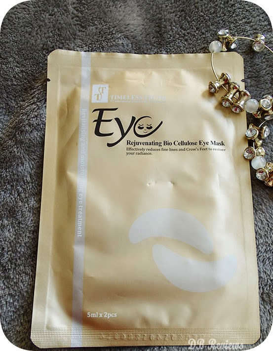Bio Cellulose Rejuvinating Eye Mask from Timeless Truth