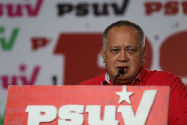 Diosdado Cabello: Del oriente no saldrá ni una gota de petróleo
