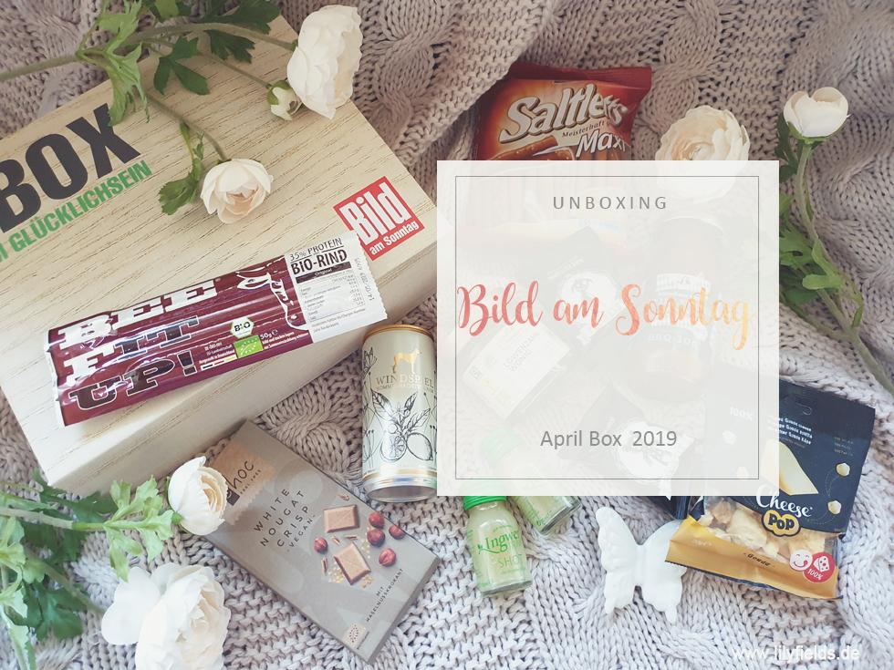 BILD am SONNTAG Box - April 2019