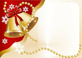 Cartão de natal com foto gratis