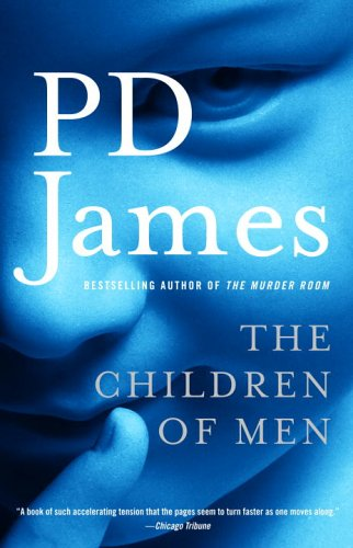 Book cover for P D James's The Children of Men in the South Manchester, Chorlton, and Didsbury book group