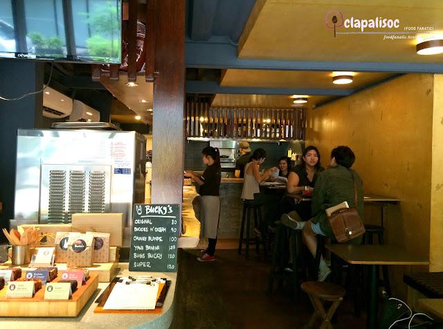 Restaurant details of Bucky's Counter Poblacion