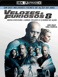 Velozes e Furiosos 8 2017 Torrent Download – BluRay 4K 2160p 5.1 Dublado / Dual Áudio