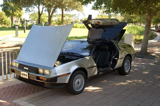 VIN 2535 with her original NCT tires! | DeLorean Fanatics