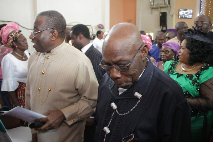 obasanjo attend jonathan church service