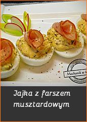 Jajka z farszem musztardowym Przepisy święta Wielkanoc wesołych świąt jajko pisanka jak zrobić przygotować barwniki pomysł na dania Wielkanocne śledź post bezmięsne fit dania wegańskie mięso mechanik w kuchniblog kulinarny przepisy kulinarne you tube