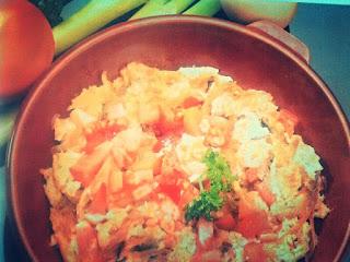 Resep Masakan telur Kocok Tomat Sederhana