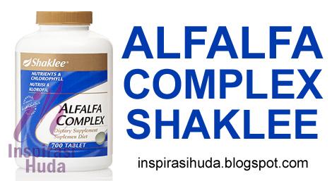 alfalfa, alfalfa complex, shaklee