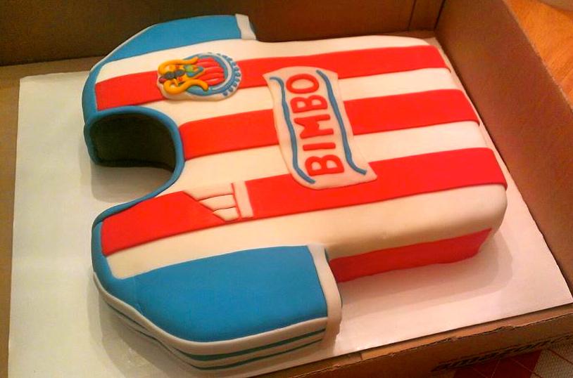 Piece A Cake Chivas Del Guadalajara Jersey Cake