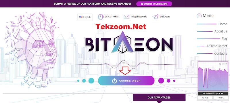 [SCAM] Review Hyip BitAeon.io - Lãi 3% hằng ngày mãi mãi - Hoàn vốn đầu tư - Rút tiền tức thì