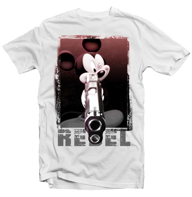 mickey rebel tshirt
