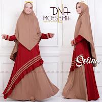 Baju Busana Muslim Gamis Selina Syari