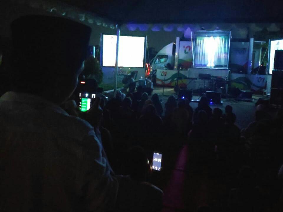 Sosialisasi Hologram Jokowi Bikin Warga Katulampa Bogor Kagum Bukan Kepalang