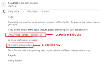 Hướng dẫn đăng ký và Kiếm Tiền Online với AdFly