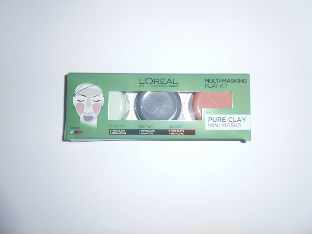 L'Oreal Skin Expert Pure Clay Mini Masks