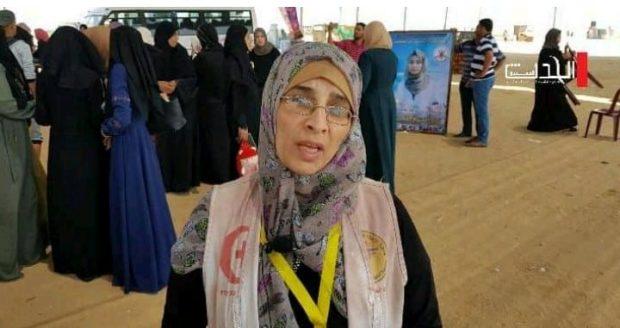 Kenakan Rompi Mendiang Putrinya, Ibunda Razan Al Najjar Jadi Relawan Medis