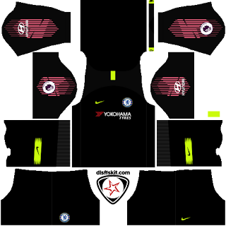 2018-2019 Chelsea DLS Kits And Logo