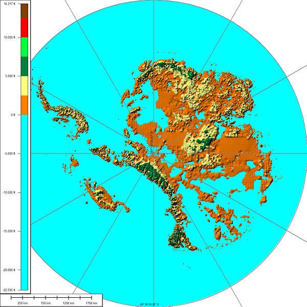 Antarktis Eisfrei