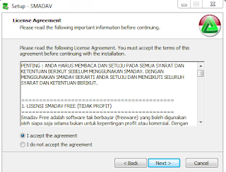 Click I accept the agreement and Click Next.