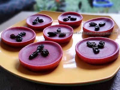 Resep Kue Lumpur Kentang Susu Red Velvet