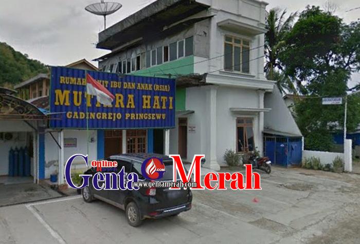 Dir.RS Mutiara Hati Pringsewu : Bangunan Rumah Sakit Sesuai Prosedur