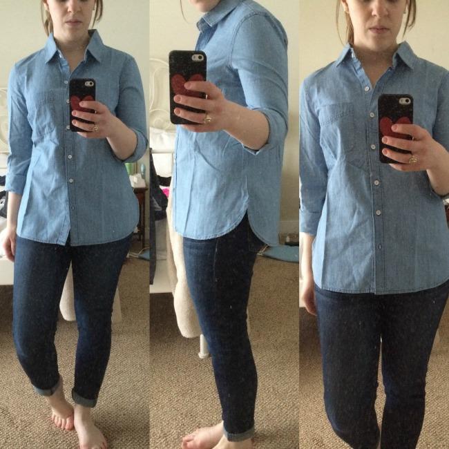 Shopping reviews vol 20 something goodsomething good for Denim shirt women old navy