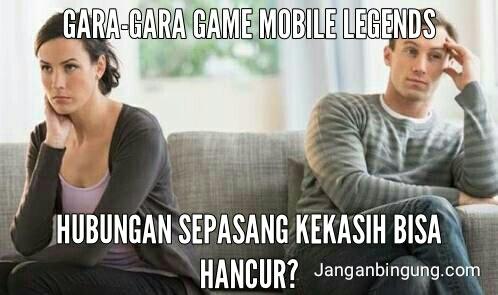 Gara-Gara Game Mobile Legends Hubungan Sepasang Kekasih Bisa Hancur?