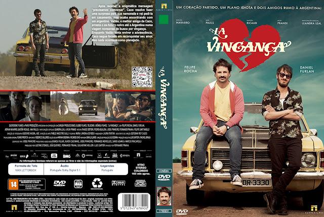 Capa DVD La Vingança [Custom]
