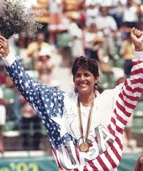 Gigi Fernandez After Winning