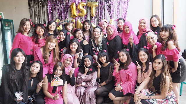 First Anniversary Surabaya Beauty Blogger