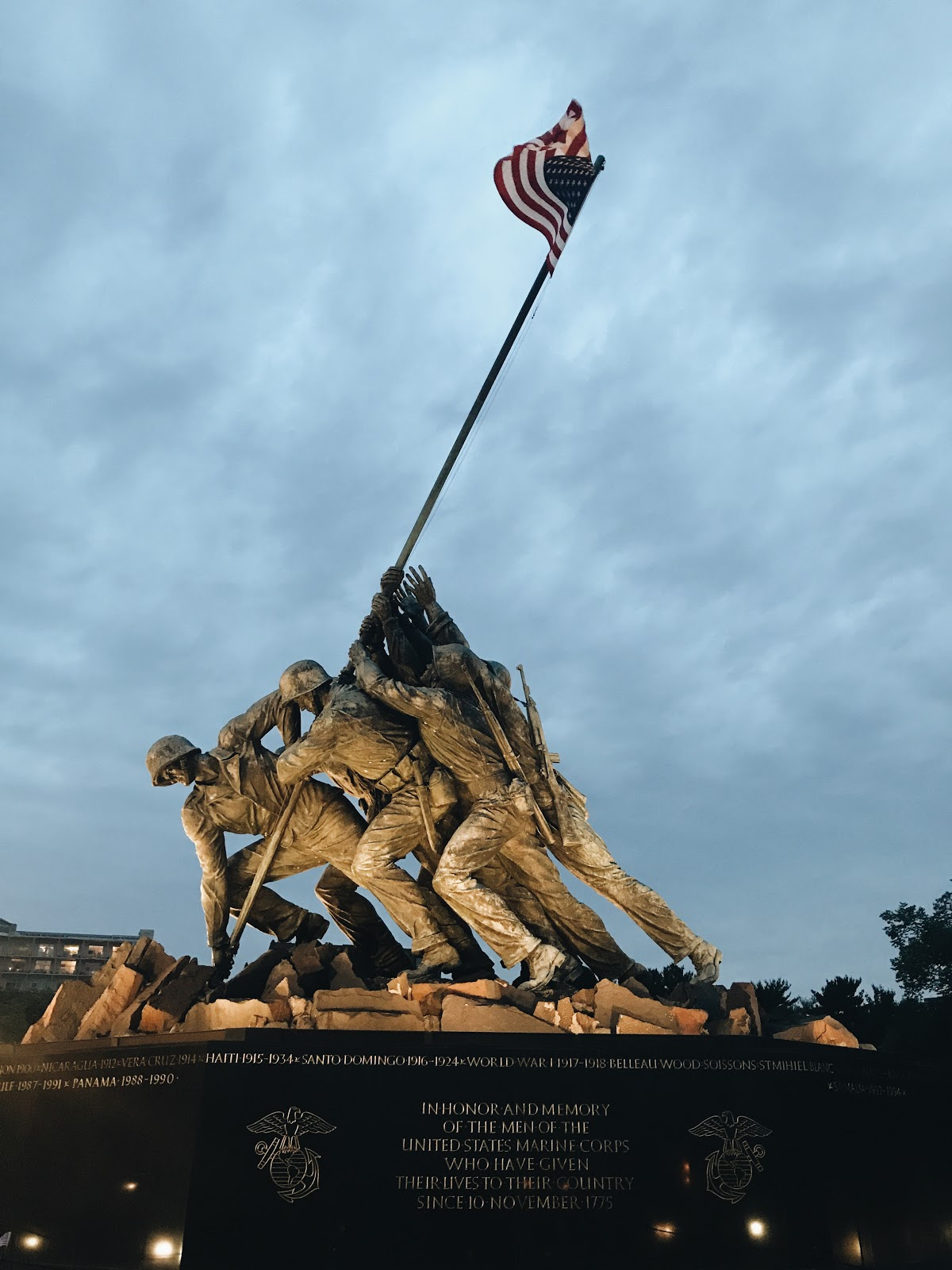 Marine Corps Memorial  | A Weekend in DC