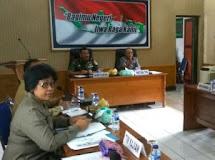 Danrem 131/Stg menerima Kunjungan Tim Kajian Anggota Dewan Pertimbangan Presiden di Makodim 1304/Gorontalo