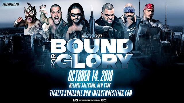 TNA - Bound for Glory 2018: Johnny Impact es el nuevo campeón mundial mientras que Taya no fue capaz de batir a Tessa Blanchard