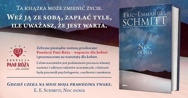 """Weź książkę ze sobą, zapłać ile uważasz: """"Noc ognia"""" Eric-Emmanuel Schmitt"""