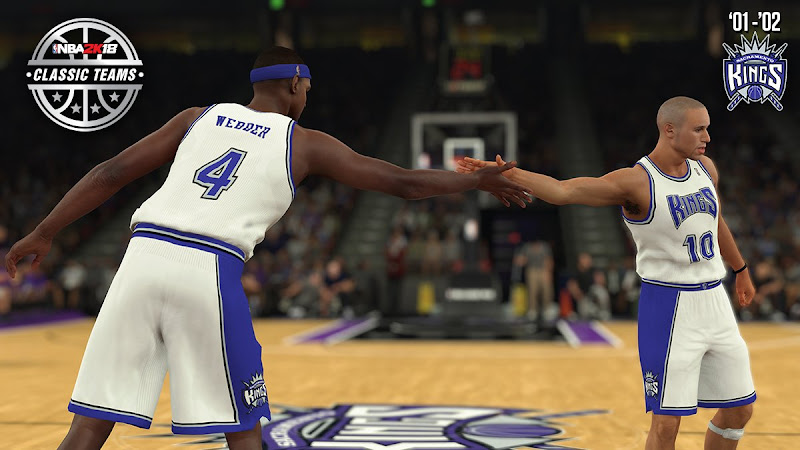 NBA 2K18 2002 Kings