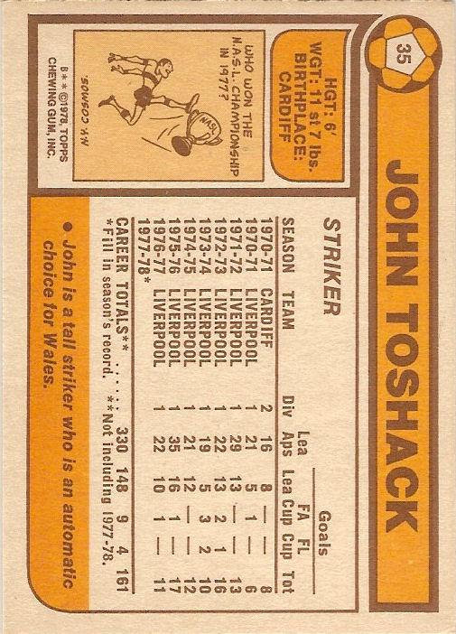 ORANGE BACK 1978 KENNY HIBBITT -#286- WOLVES TOPPS-FOOTBALL