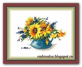 """Download embroidery scheme Сделано с любовью ЦВ-048 """"Капельки неба"""""""