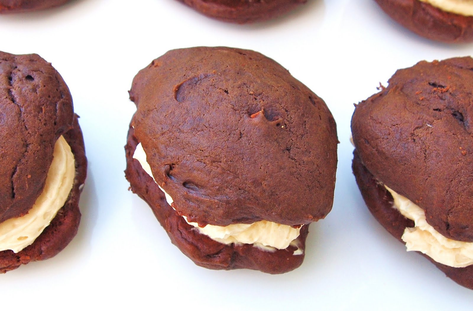 The Alchemist: Chocolate Whoopie Pies With Salted Caramel Buttercream