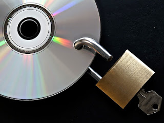 Picture of DVD with a Padlock