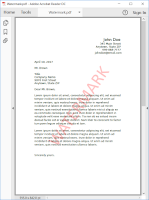Pic. 2 Stamped PDF document