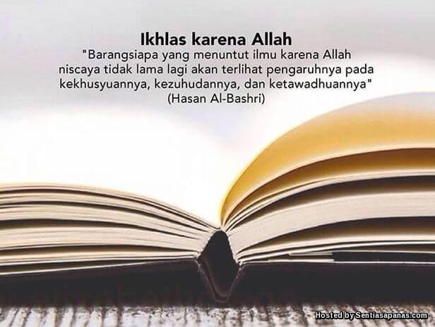 Ikhlas+Kerana+Allah