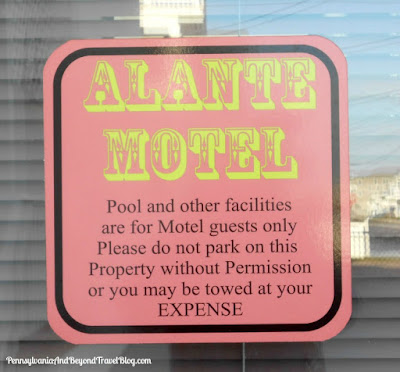Alante Motel in North Wildwood New Jersey