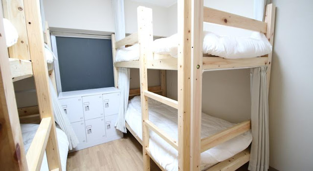 名古屋格洛克背包旅舍 Glocal Nagoya Backpackers Hostel - 4人房