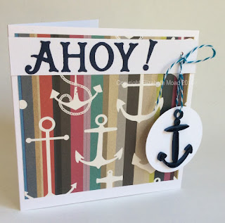 Elizabeth Moad quilled anchor
